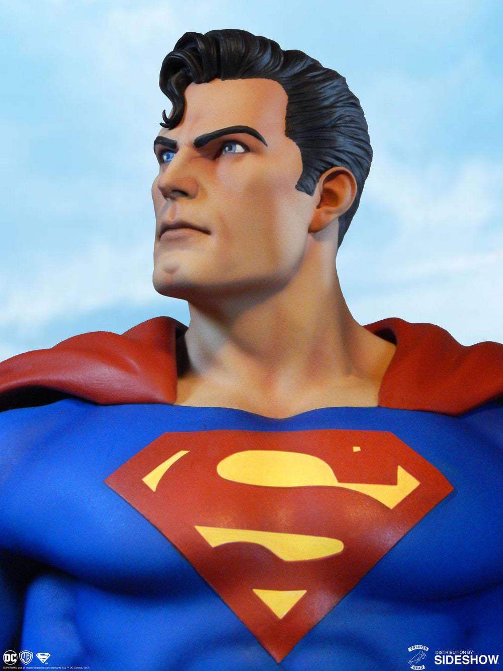Sideshow Collectibles Tweeterhead DC Comic Super Powers Collection Superman Maquette Statue