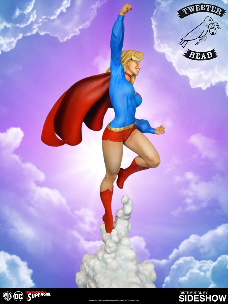 Sideshow Collectibles Tweeterhead Supergirl Maquette Statue