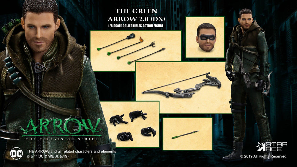 Star Ace Toys Arrow Green Arrow 2.0 Deluxe Version 1/8 Action Figure