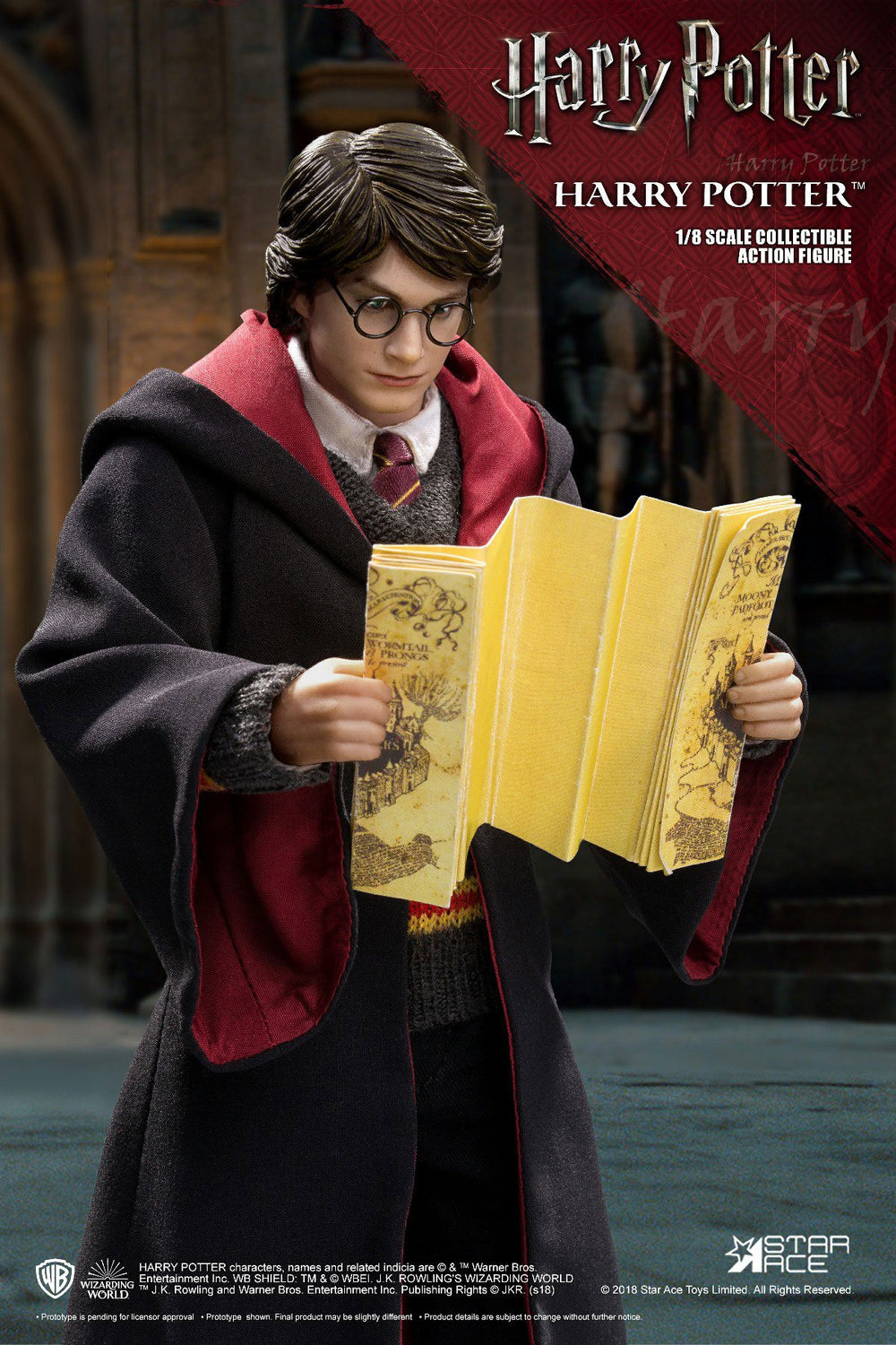 Star Ace Toys Harry Potter 2.0 Uniform Version 1/8 Action Figure
