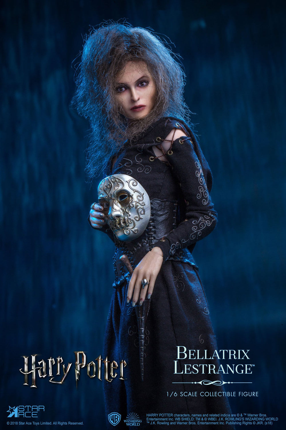 Star Ace Toys Harry Potter Bellatrix Lestrange Deluxe Version 1/6 Action Figure