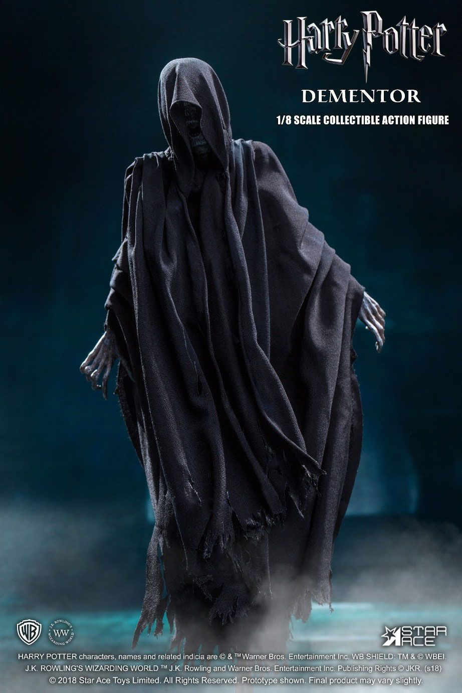Star Ace Toys Harry Potter Dementor 1/8 Action Figure