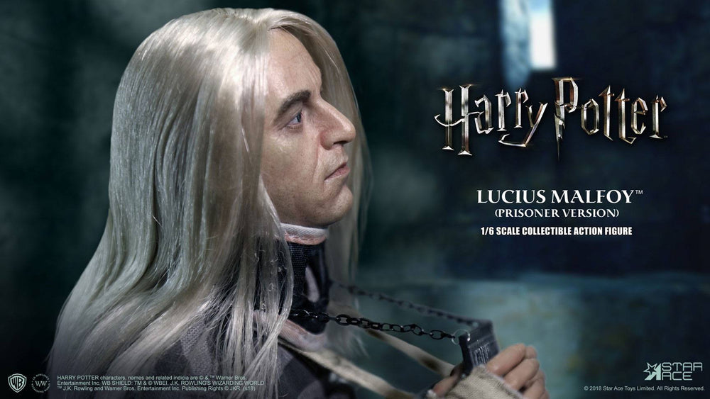 Star Ace Toys Harry Potter Lucius Malfoy Prisoner Version 1/6 Action Figure