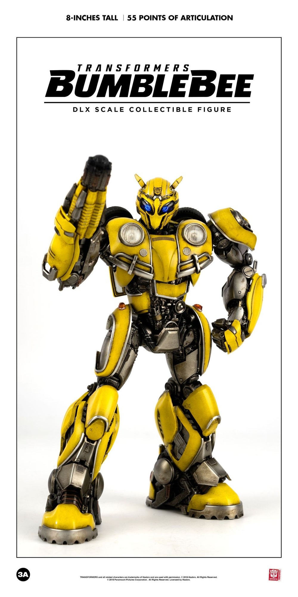 ThreeA Transformers Bumblebee Movie Bumblebee DLX Action Figure