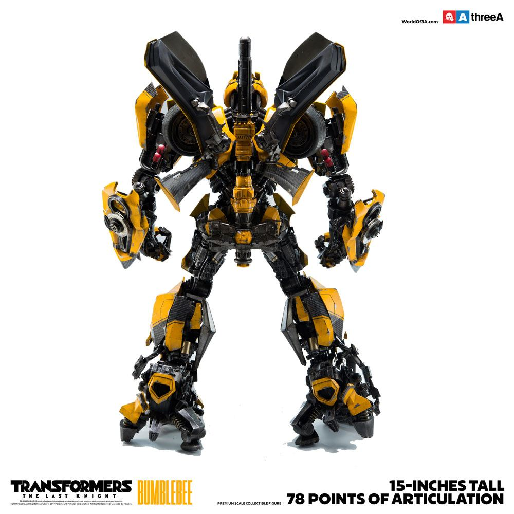 ThreeA Transformers The Last Knight Bumblebee Premium Scale Action Figure