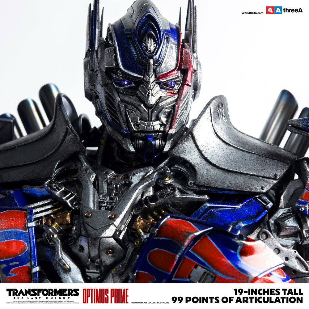 ThreeA Transformers The Last Knight Optimus Prime 1/6 Action Figure