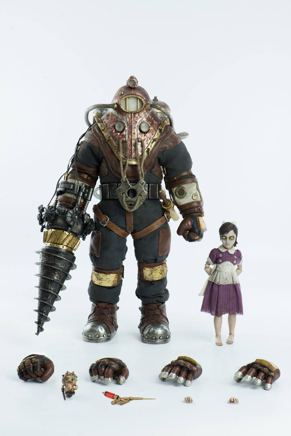 Threezero Bioshock Subject Delta & Little Sister 1/6 Action Figure 2-Pack