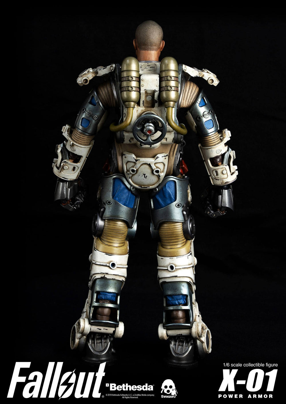 Threezero Fallout X-01 Power Armor 1/6 Action Figure