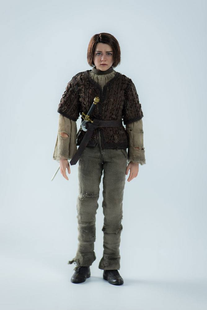 Threezero Game Of Thrones Arya Stark 1/6 Action Figure Used For Video Review
