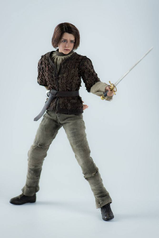 Threezero Game Of Thrones Arya Stark 1/6 Action Figure