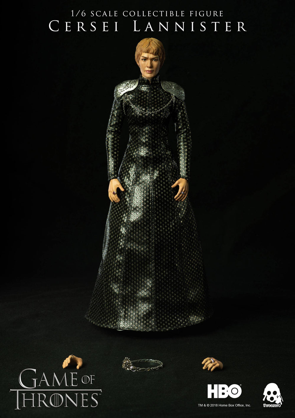 Threezero Game Of Thrones Cersei Lannister 1/6 Action Figure