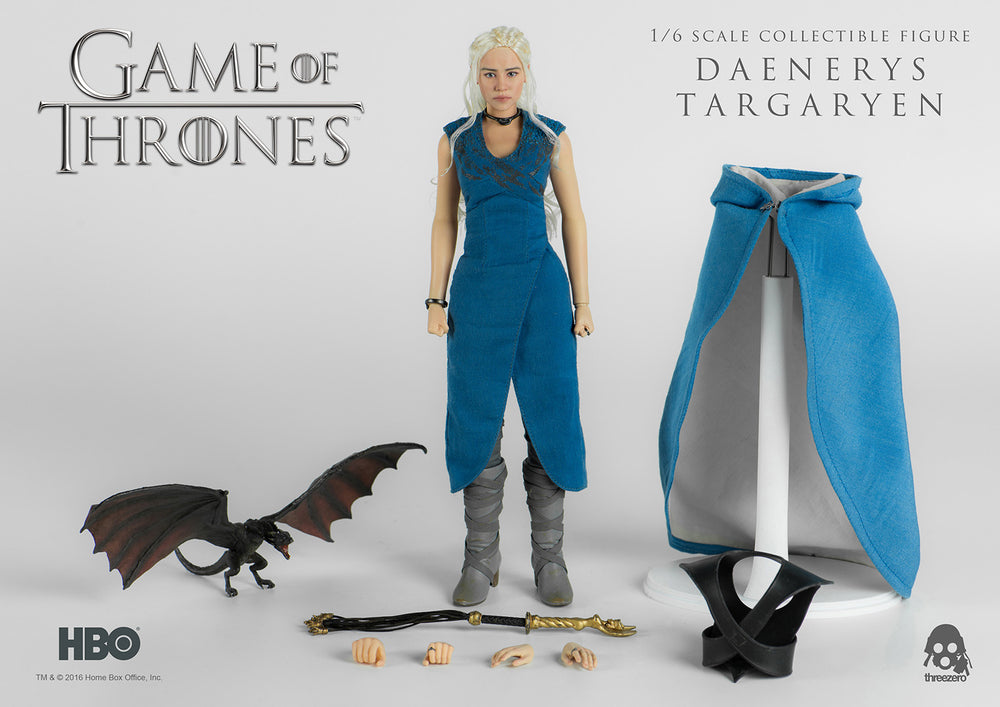 Threezero Game Of Thrones Daenerys Targaryen 1/6 Action Figure - Movie Figures - 16