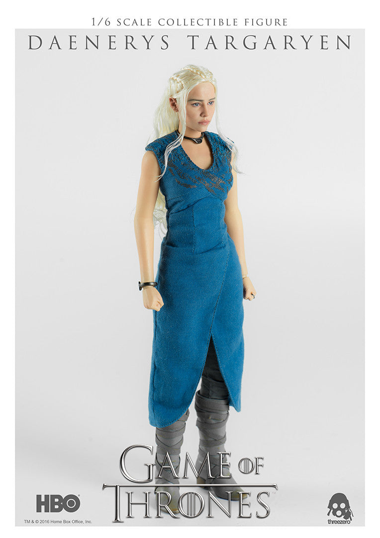 Threezero Game Of Thrones Daenerys Targaryen 1/6 Action Figure - Movie Figures - 1