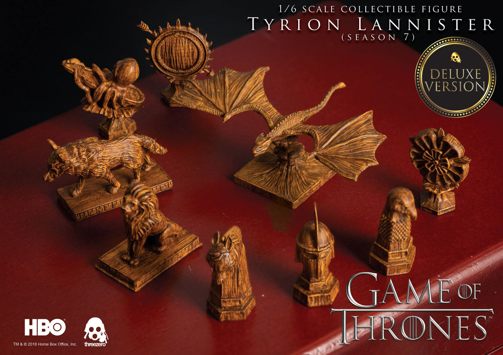 Threezero Game Of Thrones Tyrion Lannister Season 7 Deluxe Version 1/6 Action Figure
