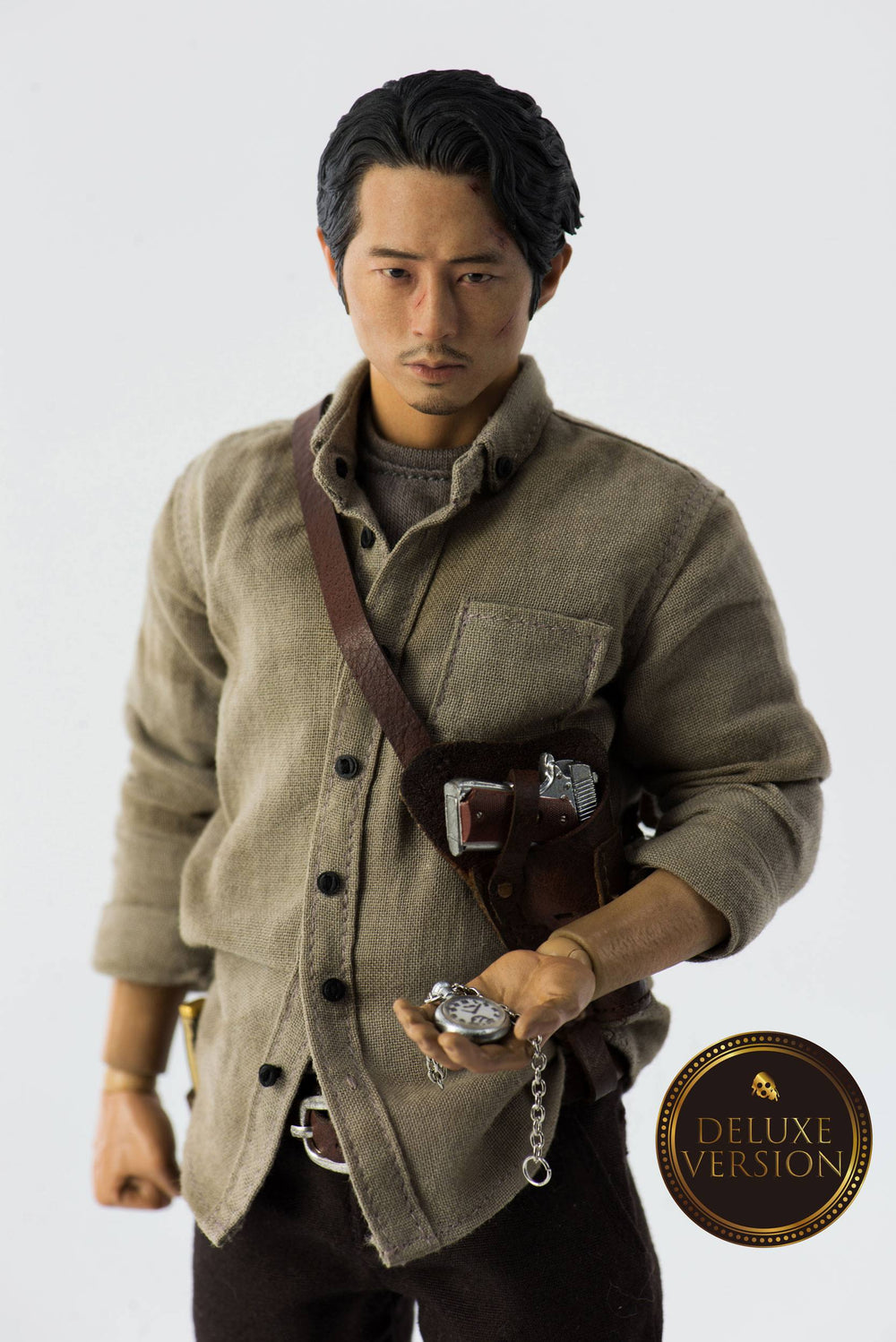 Threezero The Walking Dead Glenn Rhee Deluxe Version 1/6 Action Figure
