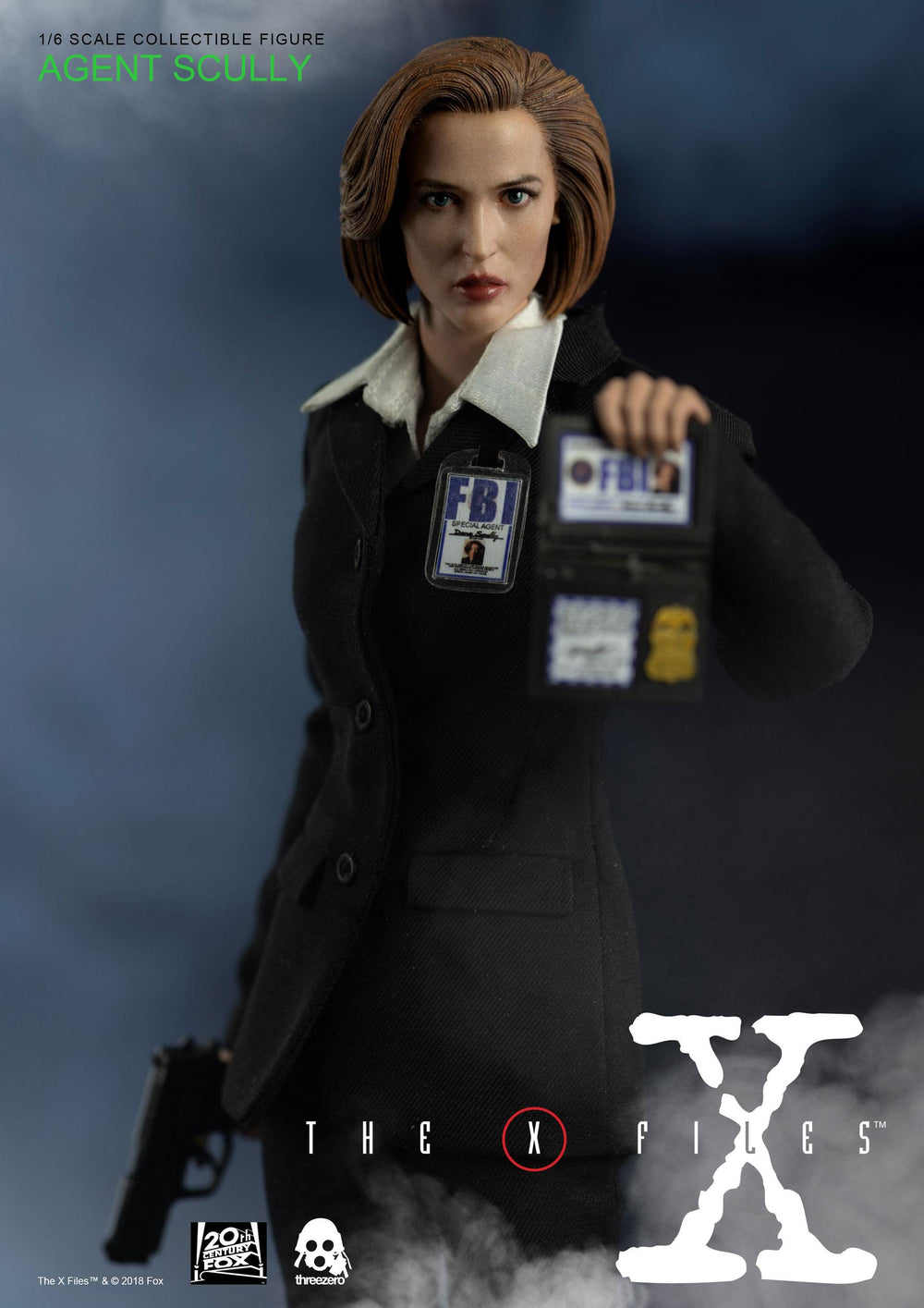 Threezero The X-Files Agent Scully 1/6 Action Figure