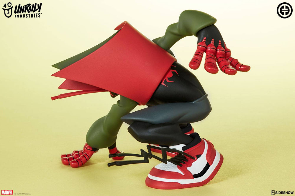 Unruly Industries Marvel Super Heroes in Sneakers Miles by Tracy Tubera Statue