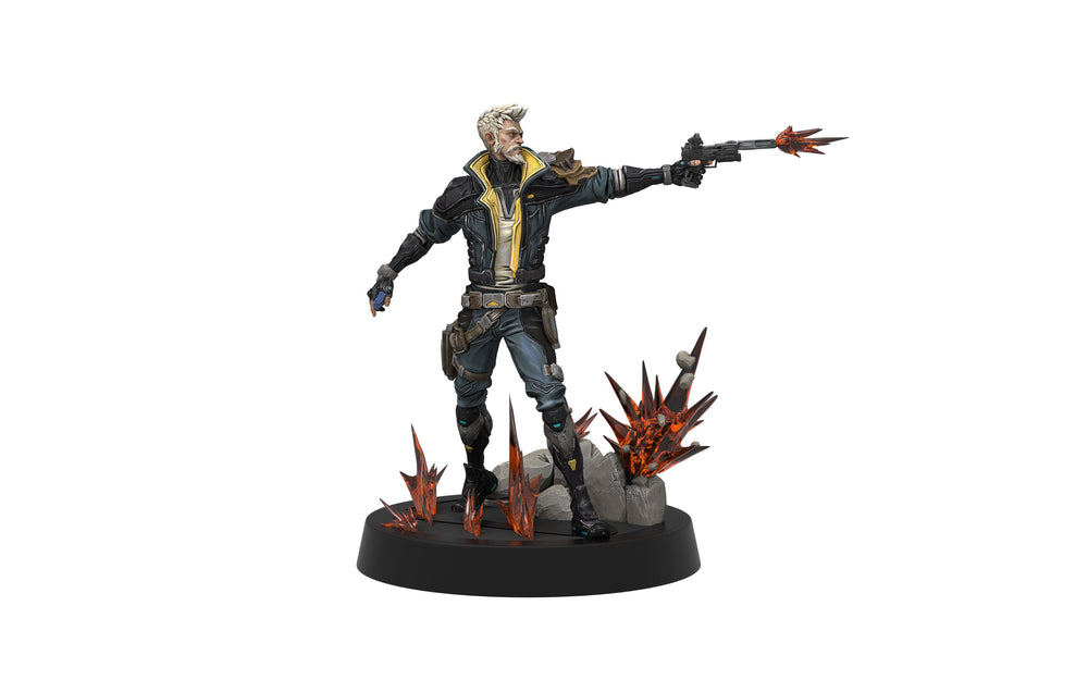 Weta Borderlands 3 Figures of Fandom Zane PVC Statue
