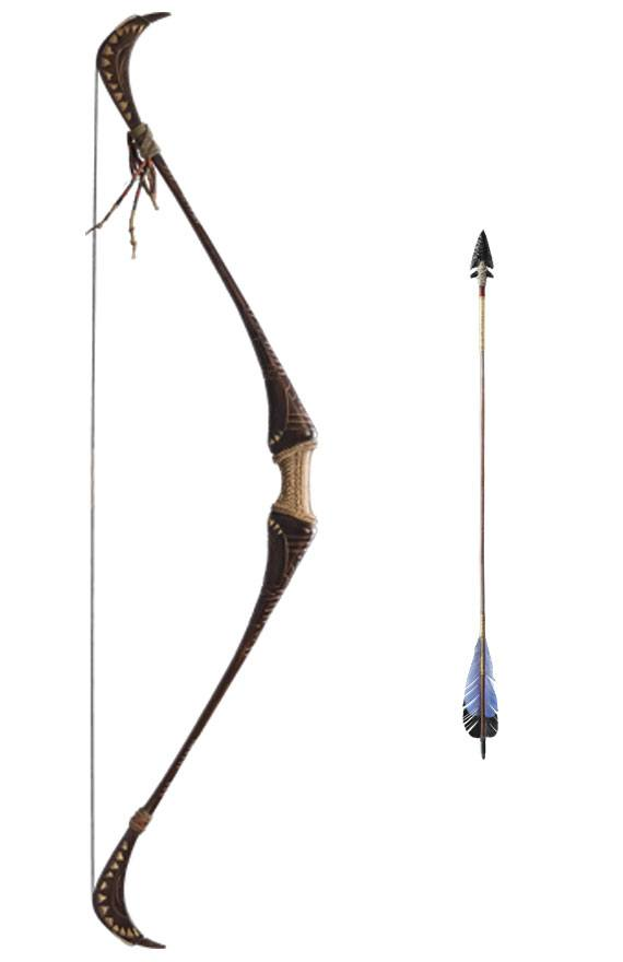 Weta Shadow of the Tomb Raider Statue Lara Croft's Bow and Arrow 1/1 Prop Replica