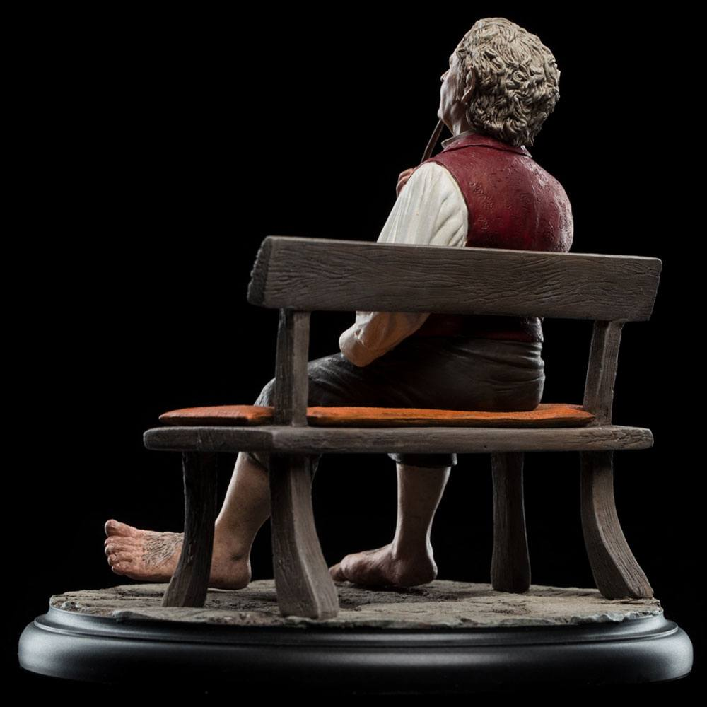 Weta The Lord Of The Rings Bilbo Baggins Mini Statue