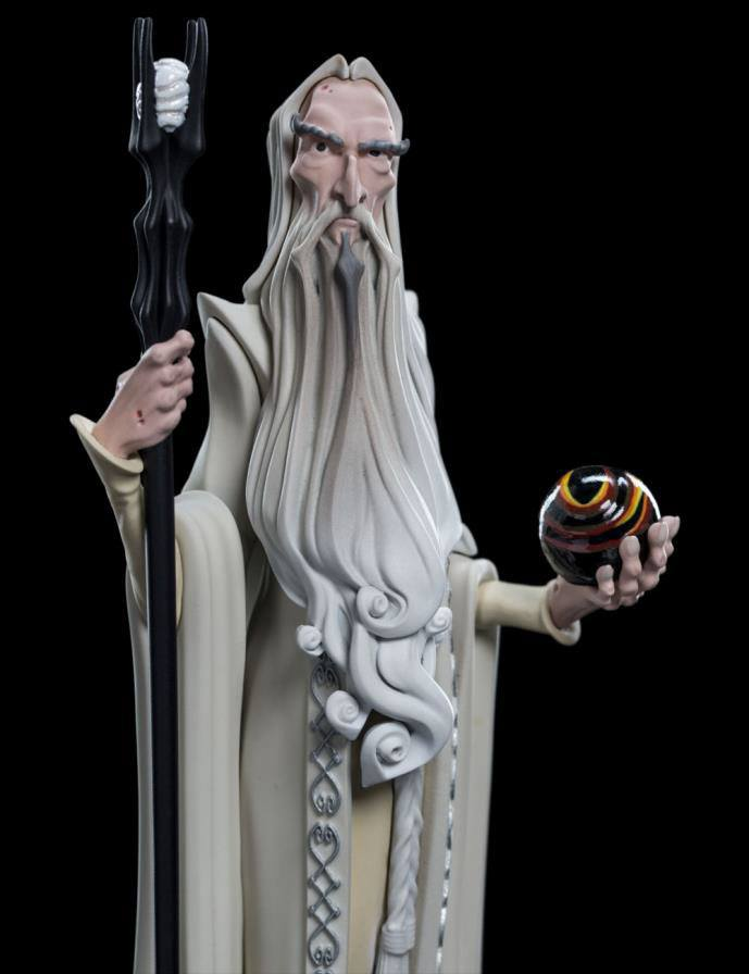 Weta The Lord of the Rings Saruman Mini Epics Vinyl Figure Statue