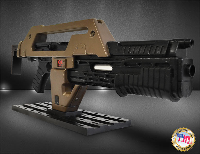 Hollywood Collectibles Group Aliens Pulse Rifle Brown Bess Weathered 1/1 Prop Replica - Movie Figures - 5
