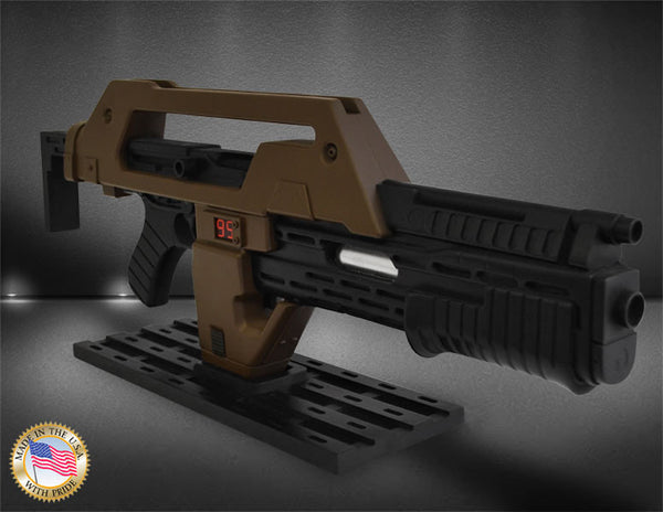 Hollywood Collectibles Group Aliens Pulse Rifle Stunt Brown Bess 1/1 Prop Replica - Movie Figures - 1
