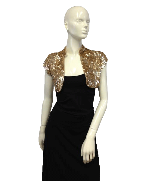 Gold Sequin Cover Up SKU 000025