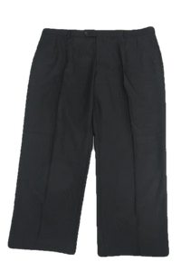 Eddie Domani Classic Black Dress Pants SKU 000159