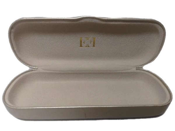 Escada Gold Leather Sunglasses Case (SKU 000163-3)