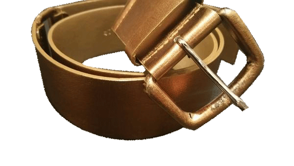 BELT Bronze Metallic Belt (SKU 000099)