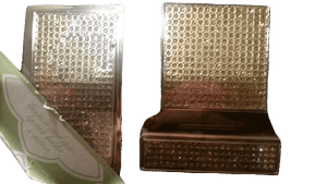 Business Card Case, Mirror and Lipstick Holder Glamazon Rhinestone Trio (SKU 000100)