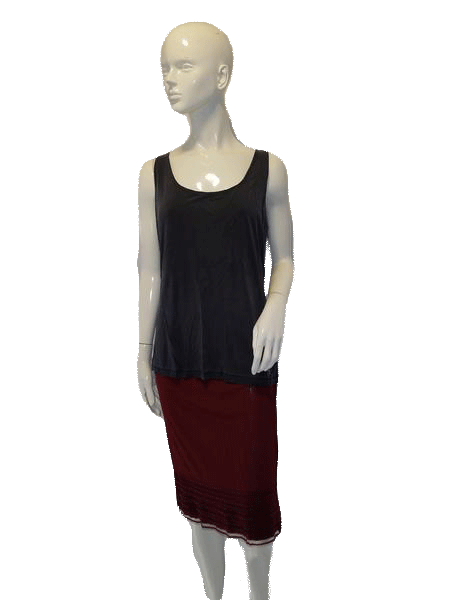 Anne Klein Gray Tank Top Sixe XL SKU 000127