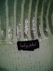 Baby Phat Sweater, Silver Size: M (SKU 000214-7)