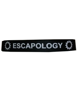 Escapology Band Black One Size Fits All  SKU 000199-2