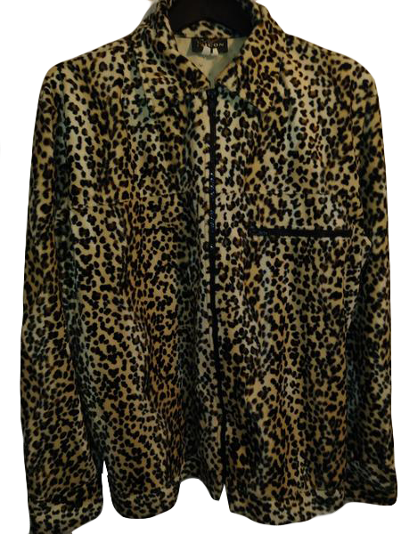 Pop Icon Jacket Animal Print  Size L (SKU 000148-5)