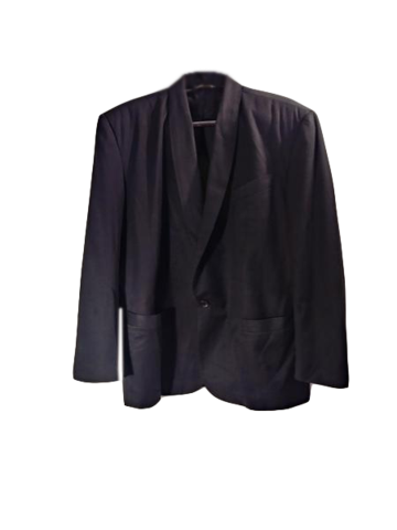 le chateau Men's Suit Jacket Black Size 44 (SKU 000153-8)