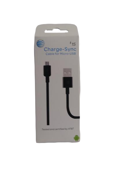 AT+T Charge-Sync Cable (SKU 000217-6)
