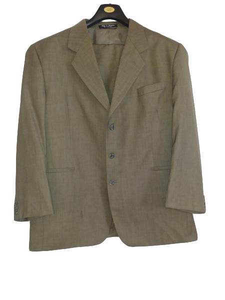 Carloorestes Men's Suit Light Brown (SKU 000225-2)