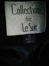 Collections for Le Suit Blazer Black Size 6 SKU 000184-13