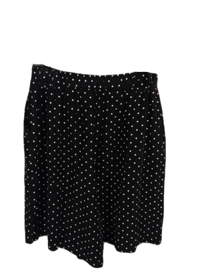 Shorts Black/White Polka Dot Size 16 SKU 000184-3
