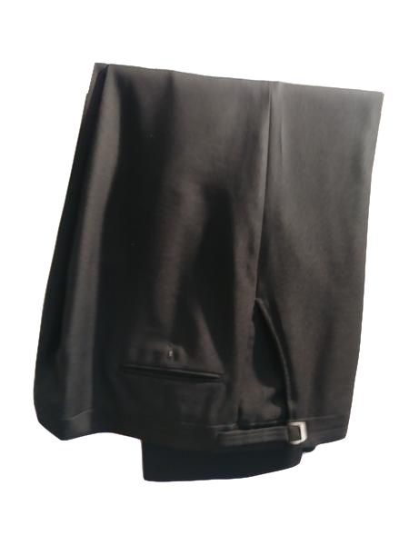 Men's Dress Pants Black Size 42 R (SKU 000191-1)
