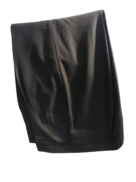 Sansabelt Men's Dress Pants Black Size 42 (SKU 000191-2)