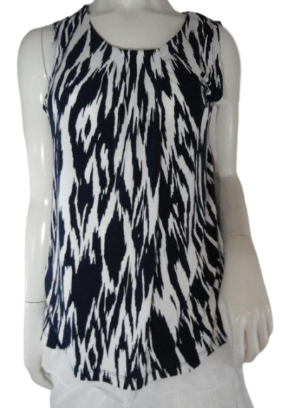Anne Klein Lounge Wear Sleeveless Top Black Size M SKU 000024