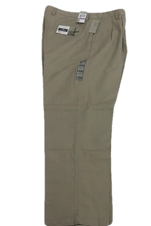 "Dockers Relaxed Fit D4 Pleated Beige 100% Cotton Dress Pants Size 38"" waist, 32"" length SKU 000158"
