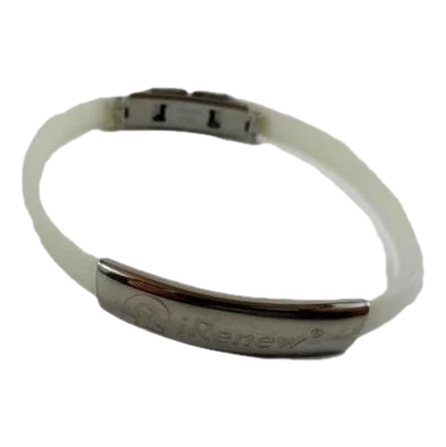 Bracelet Silver and White (SKU 000242-34)