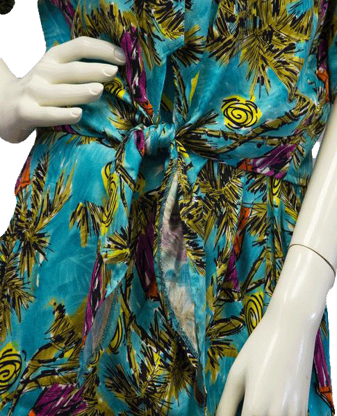Jarrod's 70's Palm Beach Skirt and Cropped Top Set Size 4 SKU 000082