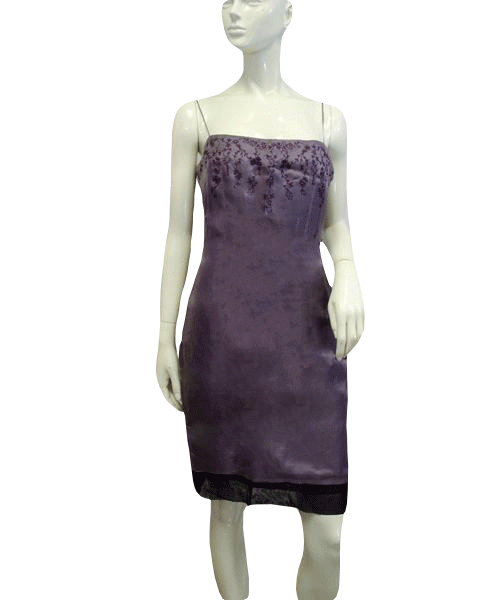 Shelli Segal Lavender Dreams Size 10 (SKU 000066)