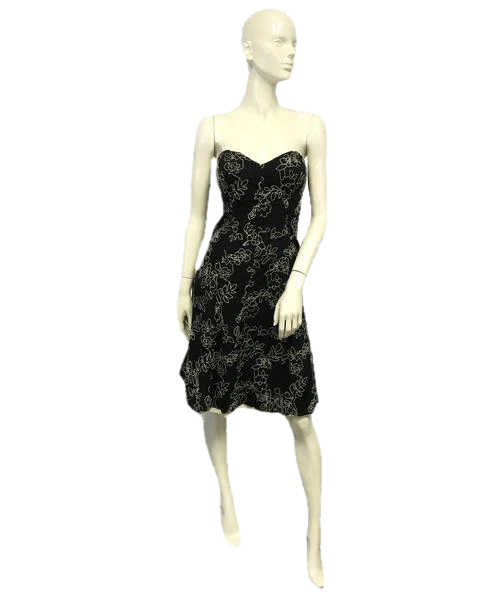 White House Black Market Strapless Summertime Dress Size 2 SKU 000065