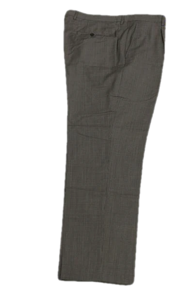 Santorelli Beige and Black Tweed Dress Pants 100% wool Size 42 SKU 000158